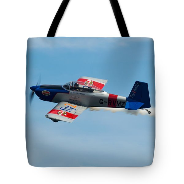 Tote Bag featuring the photograph Rv8tors Flyby Wave by Scott Lyons