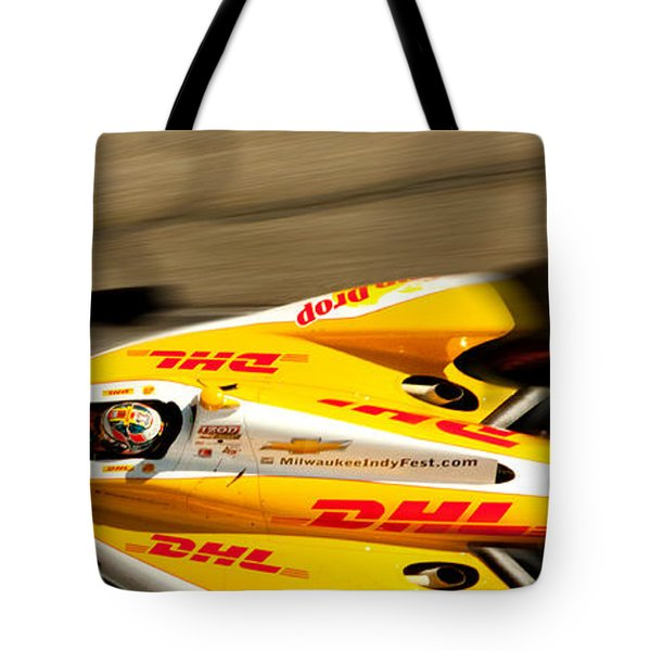 Ryan Hunter-reay Tote Bag by Denise Dube