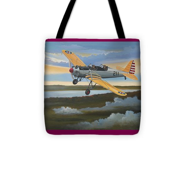 Ryan Pt-22 Recruit Tote Bag by Stuart Swartz