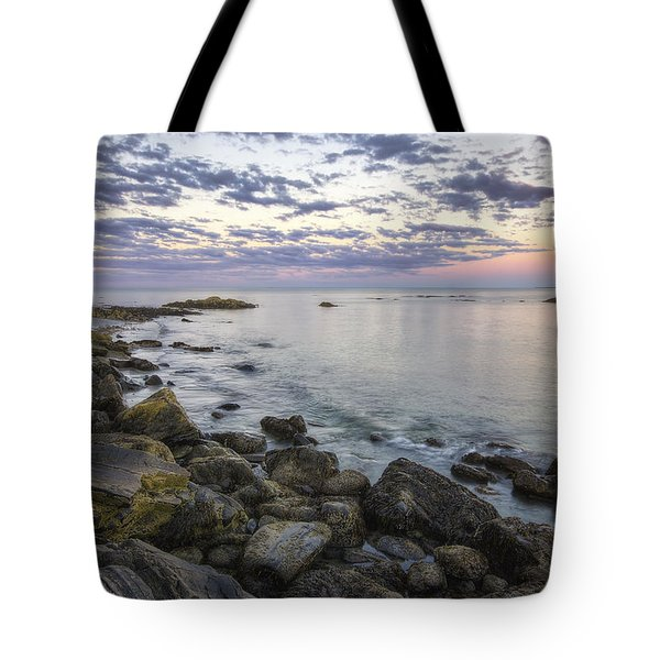 Rye Cliffs Tote Bag by Eric Gendron
