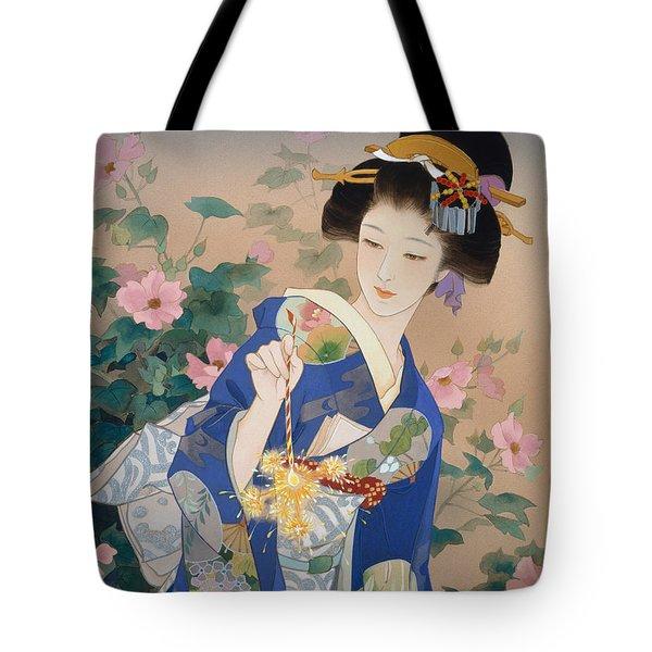 Ryo Tote Bag by Haruyo Morita