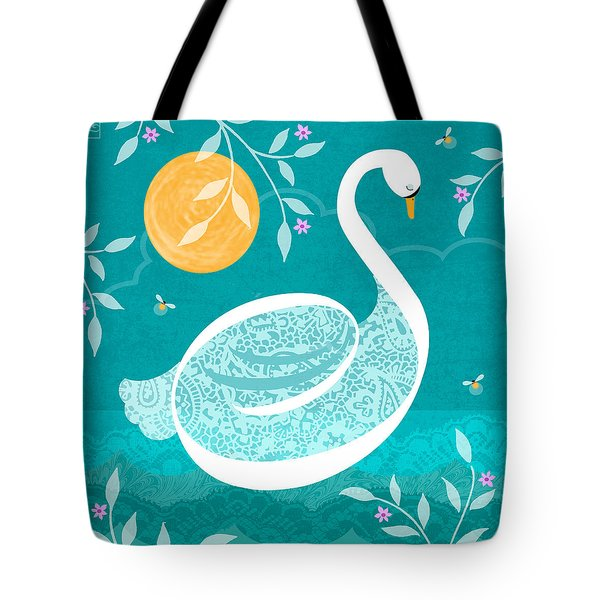 S Is For Swan Tote Bag