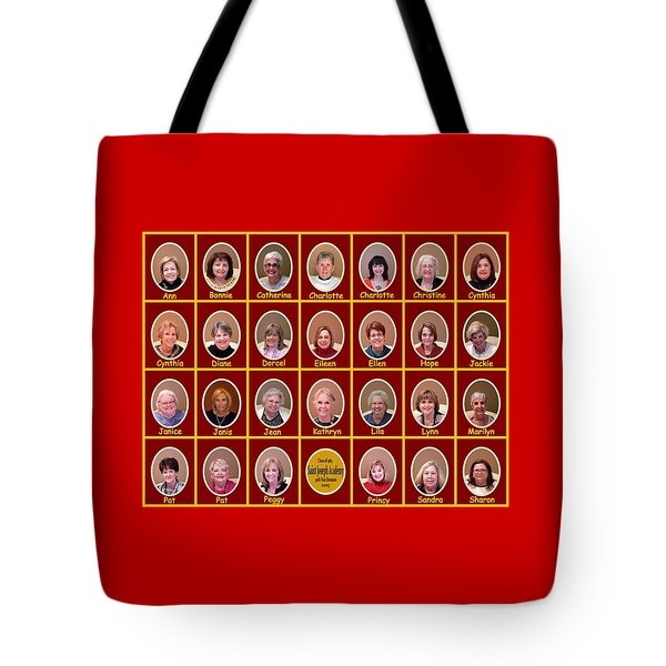 S J A Group Photo Tote Bag