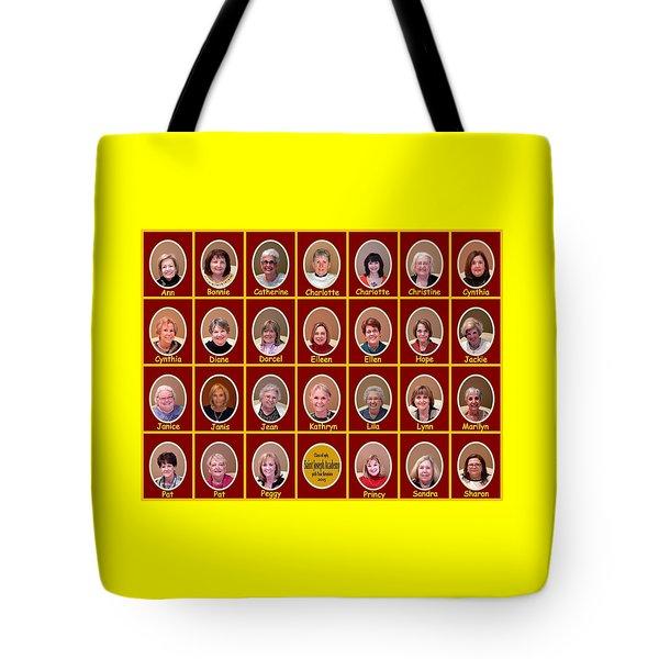 S J A Group Photo Tote Bag