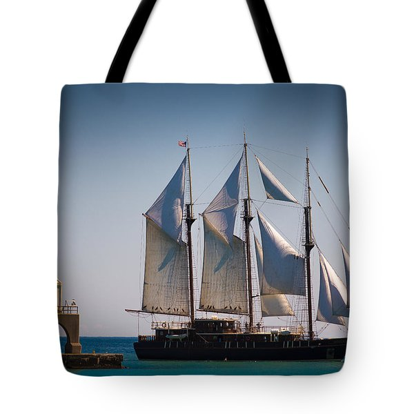 s/v Peacemaker Tote Bag