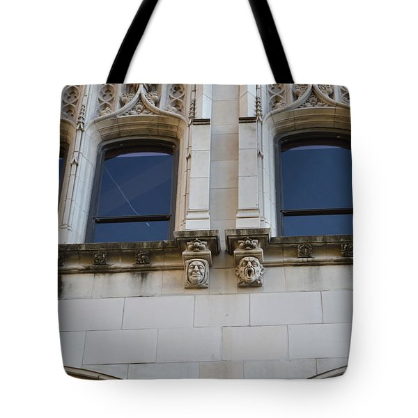 Tote Bag featuring the photograph Sa Gargoyles  by Shawn Marlow