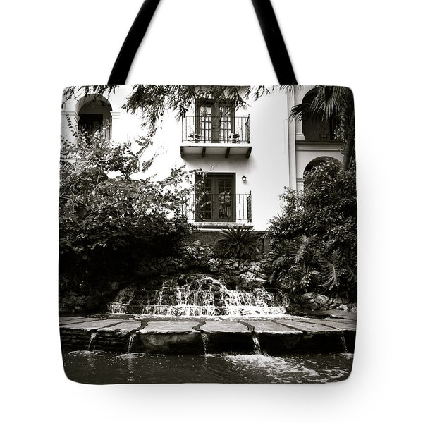 Sa River Walk 001-2013 Tote Bag by Shawn Marlow