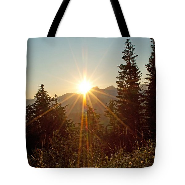 Sabbath Sunset Tote Bag