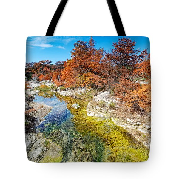 Sabinal River Magic Utopia Texas Hill Country Tote Bag