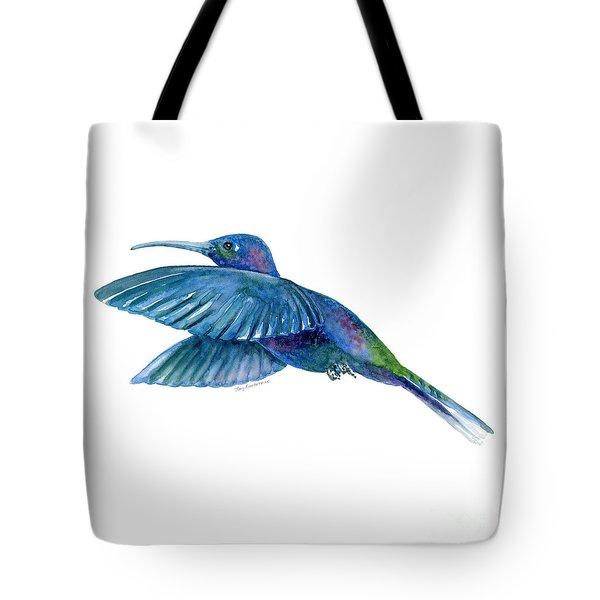 Sabrewing Hummingbird Tote Bag