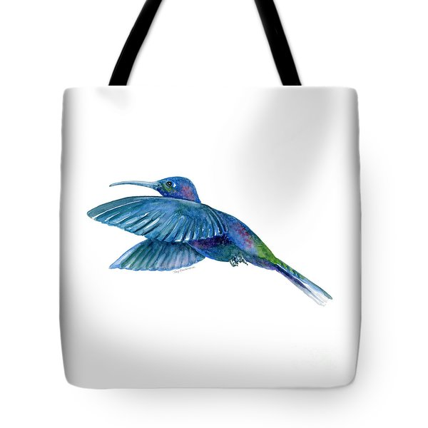 Sabrewing Hummingbird Tote Bag