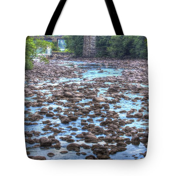 Sacandaga River Tote Bag