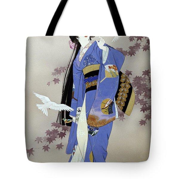 Sachi Tote Bag by Haruyo Morita