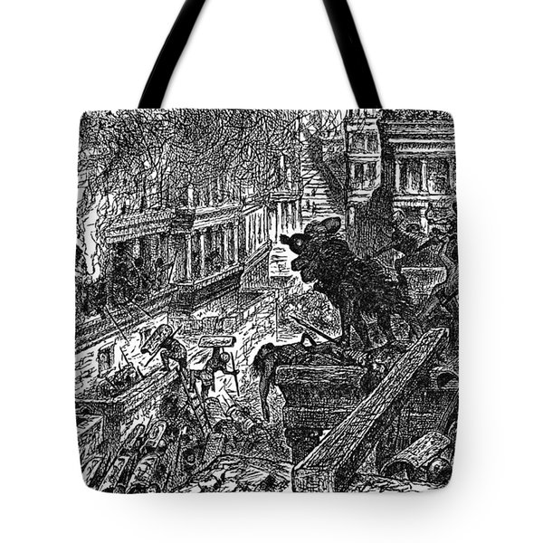 Sack Of Ctesiphon By The Romans Tote Bag