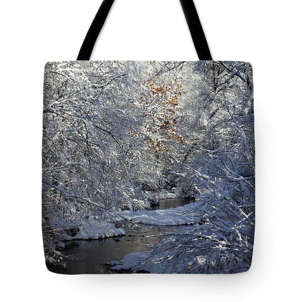 Saco River New Hampshire Tote Bag
