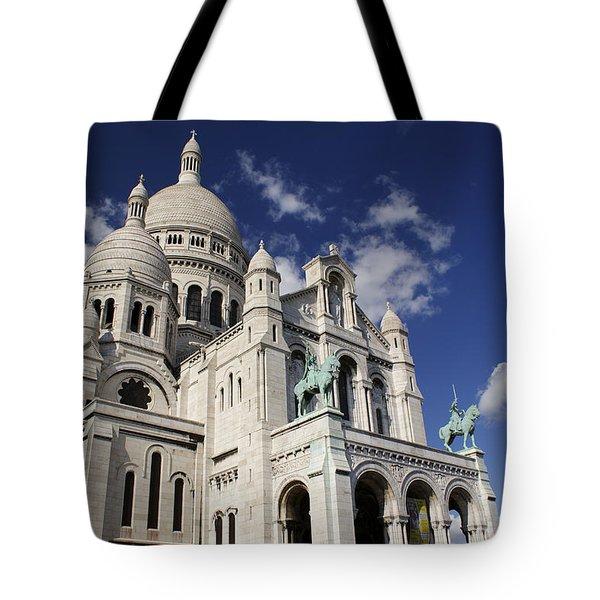 Sacre Coeur Paris Tote Bag by Gary Eason