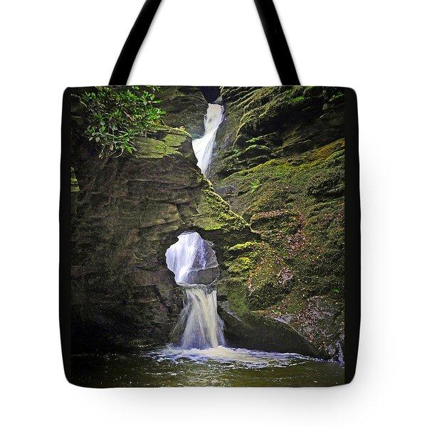 Sacred Falls Tote Bag