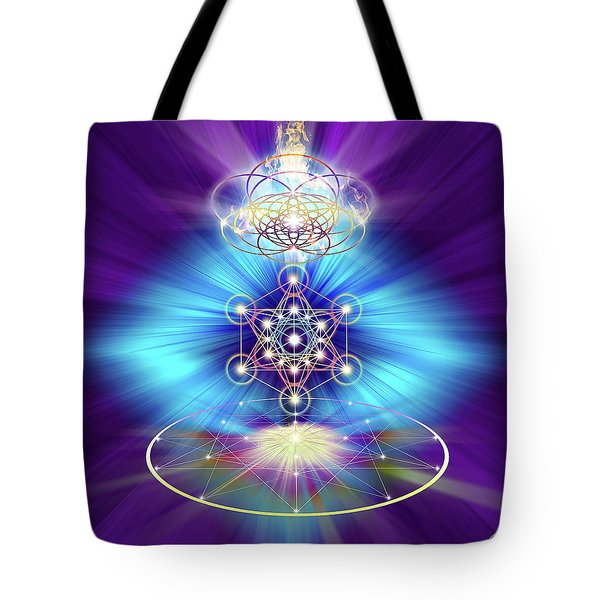 Sacred Geometry 30 Tote Bag