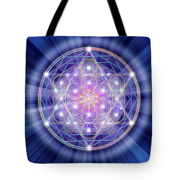 Sacred Geometry 46 Tote Bag