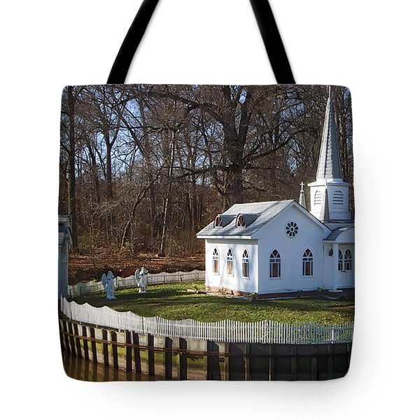 Sacred Ground Tote Bag by Brian Wallace