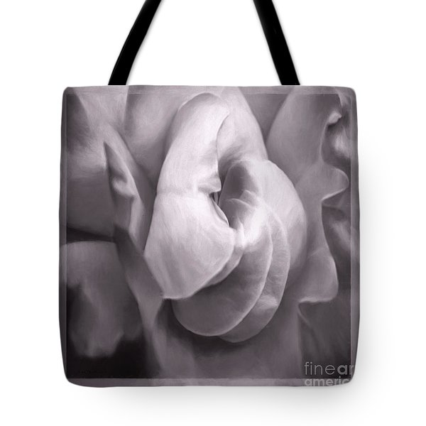 Tote Bag featuring the photograph Sacred Rose by Jean OKeeffe Macro Abundance Art