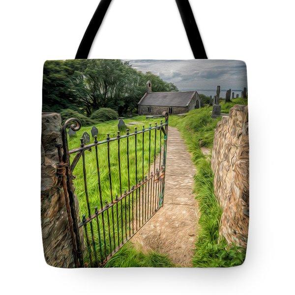 Sacred Path Tote Bag