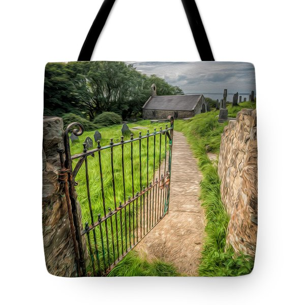 Tote Bag featuring the photograph Sacred Path by Adrian Evans