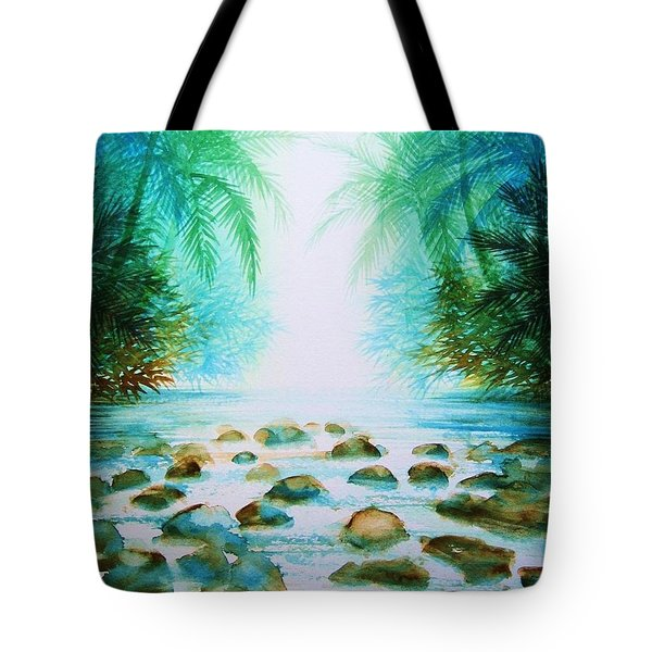 Sacred Pools Tote Bag