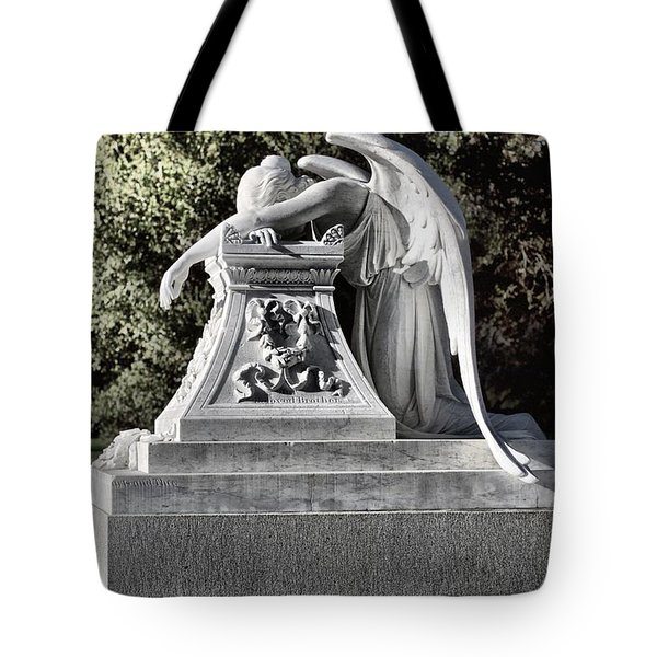 Sad Angel Tote Bag