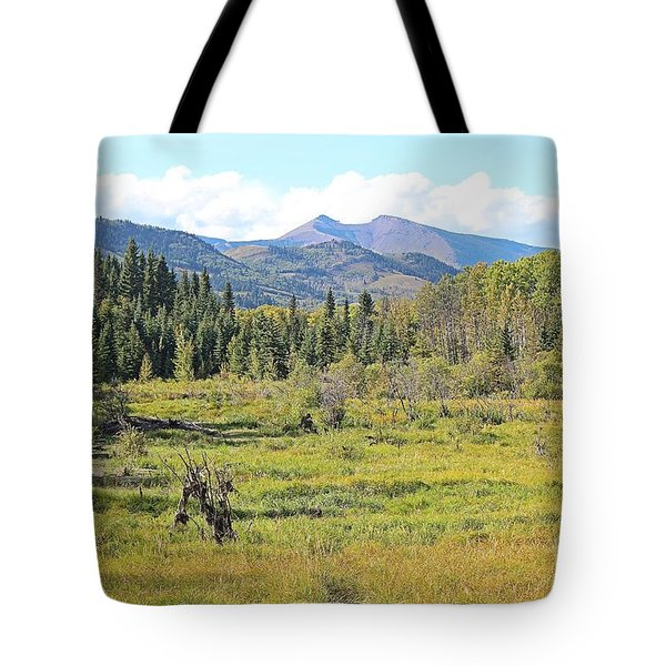 Saddle Mountain Tote Bag