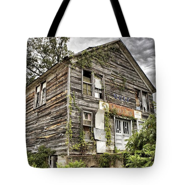 Saddle Store 1 Of 3 Tote Bag by Jason Politte
