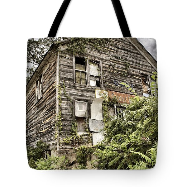 Saddle Store 2 Of 3 Tote Bag by Jason Politte