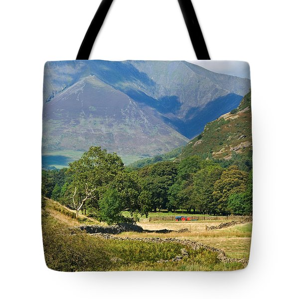 Tote Bag featuring the photograph Saddleback Mountain by Jane McIlroy