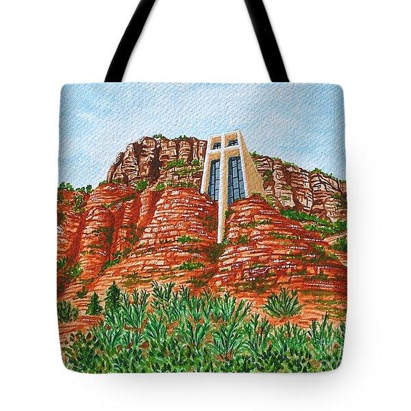 Sadona Church Tote Bag