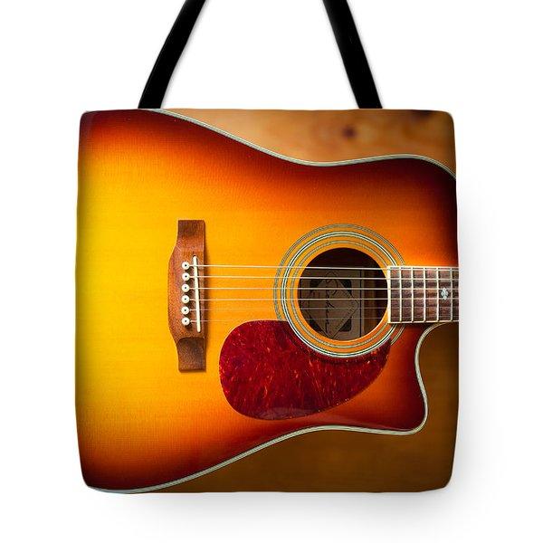 Saehan Guitar Body Tote Bag