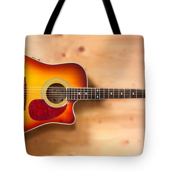 Saehan Guitar Tote Bag