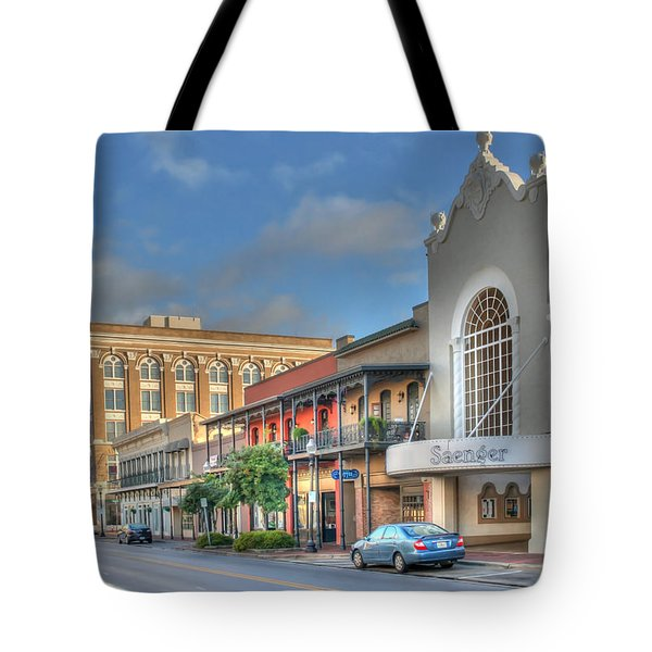 Saenger Theater Tote Bag