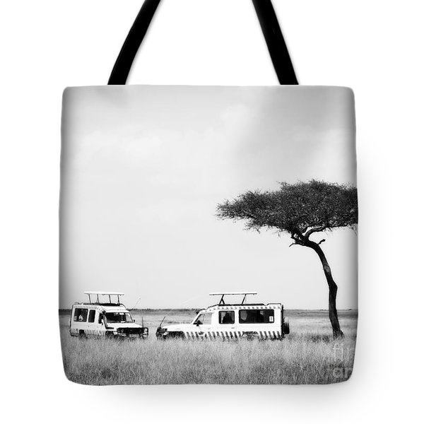 Safari Dream Tote Bag by Chris Scroggins
