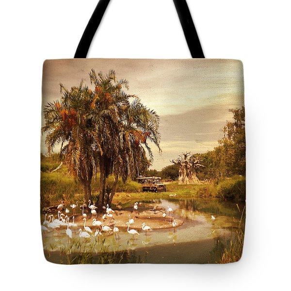 Safari Ride Tote Bag