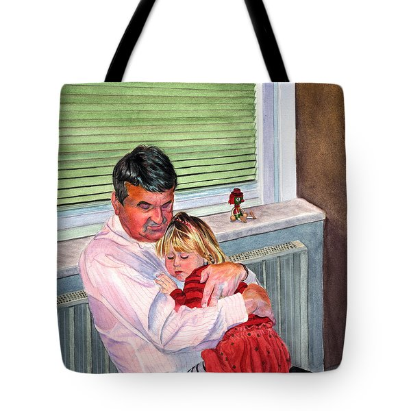 Safe And Sound Tote Bag