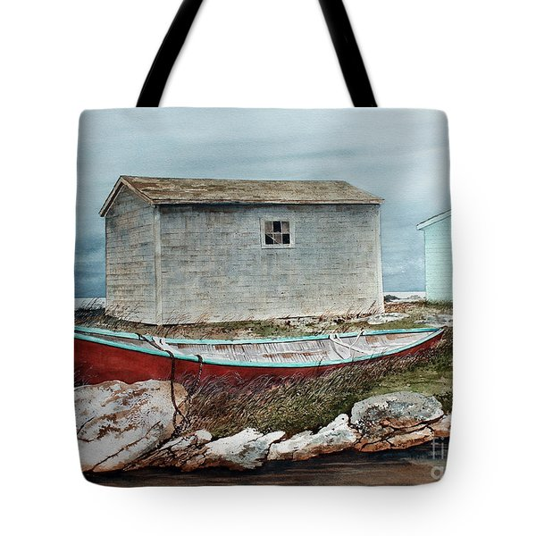 Safe From The Storm Tote Bag