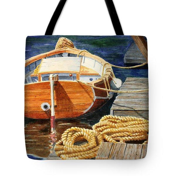 Safe Mooring Tote Bag