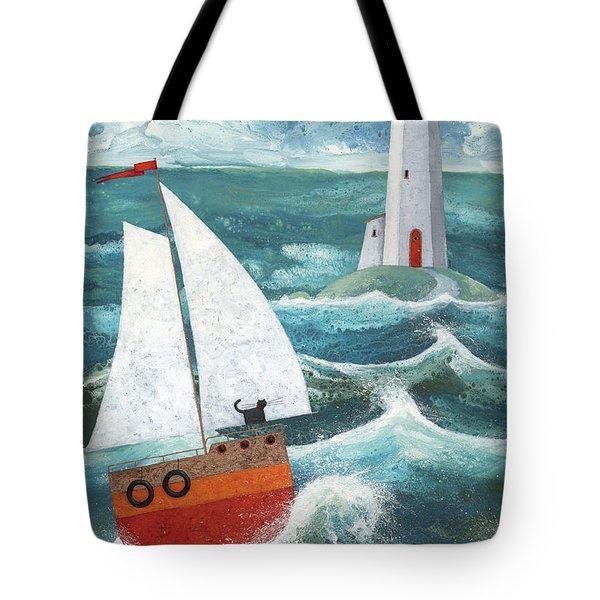 Safe Passage Variant 1 Tote Bag by Peter Adderley