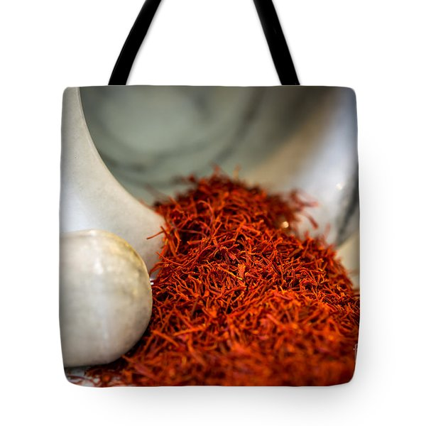 Saffron The Persian Gold Tote Bag
