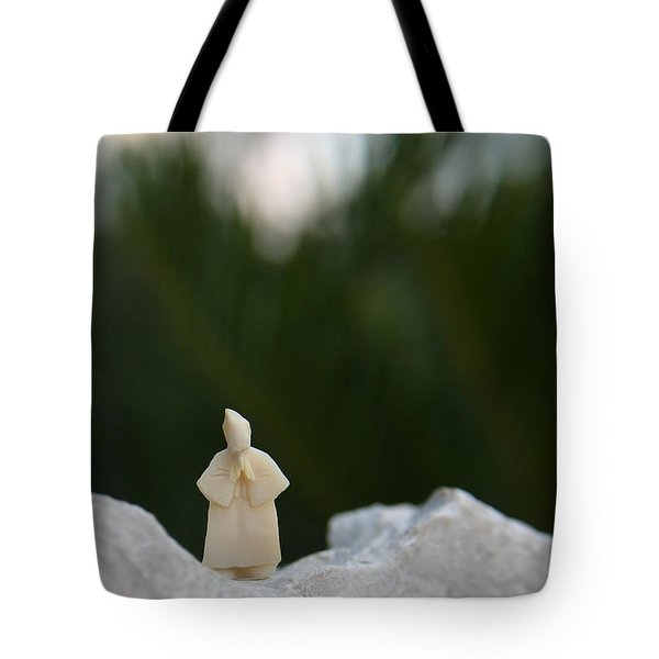 Sage On A Mountain Tote Bag