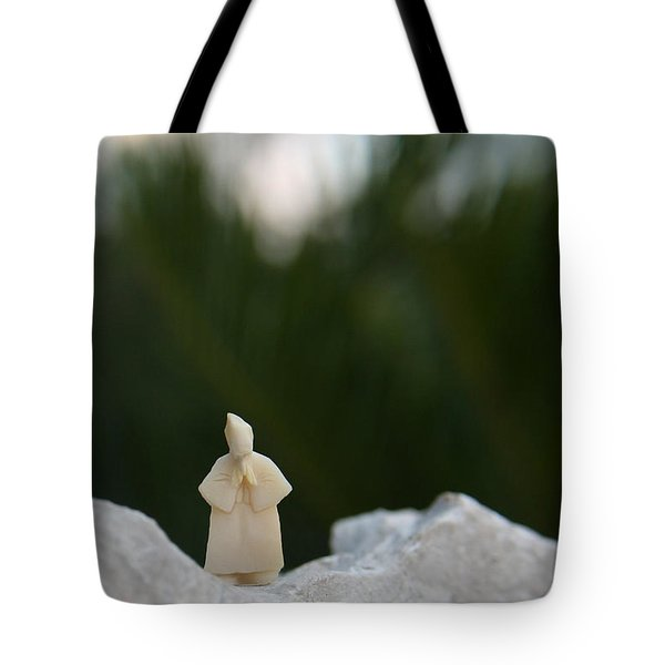 Sage On A Mountain Tote Bag by Ismael Cavazos