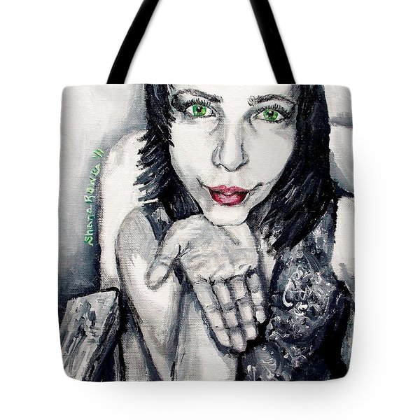 Tote Bag featuring the painting Sage by Shana Rowe Jackson