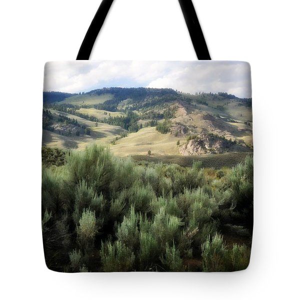 Sagebrush Tote Bag by Marty Koch