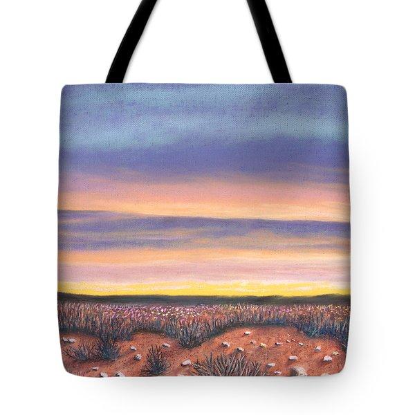 Sagebrush Sunset A Tote Bag