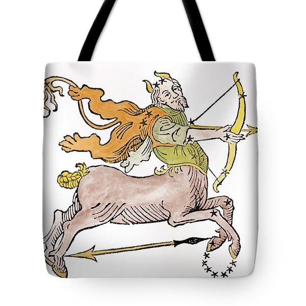 Sagittarius An Illustration Tote Bag by Italian School